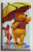 Winnie the Pooh & Piglet Light Switch Duplex Outlet wall Cover Plate Home decor image 3