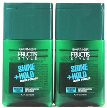 2 Count Garnier Fructis Style 4.2 Oz Shine Medium Hold Liquid Pomade No ... - $15.99