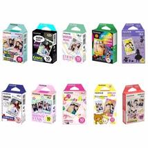 10 Packs FujiFilm Instax Mini Film Polaroid Picture 100 Instant Photos V... - $83.49