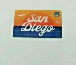 Starbucks 2020 San Diego California Ca Gift Card Series Zero Balance - $5.69