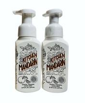 2-Pack Bath & Body Works KITCHEN MANDARIN Gentle Foaming Hand Soap 8.75 fl.oz - $16.82