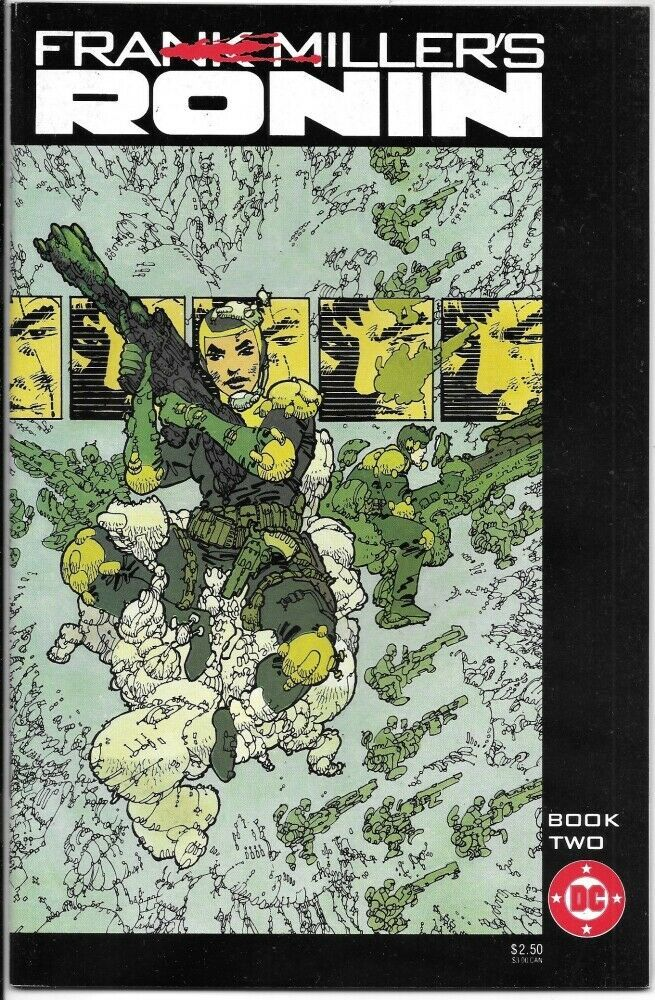 Primary image for Frank Miller's Ronin Comic Book #2 DC Comics 1983 VERY FINE/NEAR MINT NEW UNREAD