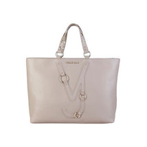 Womens Ladies Shopping Handbag Bag Versace Jeans E1VPBBB475586 Ivory Eco... - $197.48