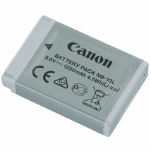 Canon NB-13L Lithium-Ion Battery Pack (3.6V, 1250mAh) -new came with my ... - $34.64
