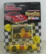 1992 RACING CHAMPIONS Michael Waltrip #30 Pennzoil 1:43 CAR & CARD - $12.99
