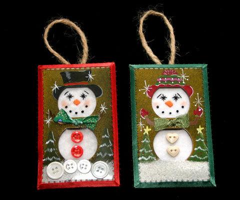 Orn snowmen set3