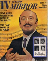 ORIGINAL Vintage November 1961 TV Radio Mirror Magazine Mitch Miller Ste... - $18.51