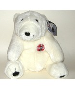 1/2 Price! Large Plush Coke Coca cola Polar Bear 1997 NWT - $8.00