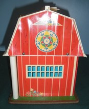 Vtg. Fisher Price Play Family #915 Farm w/ Hex Animals and Wood LP/VG++-EXC! (F) image 6