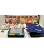 LeapFrog LeapPad Learning System Bundle 1 Consoles with 9 games/13 books... - $59.35