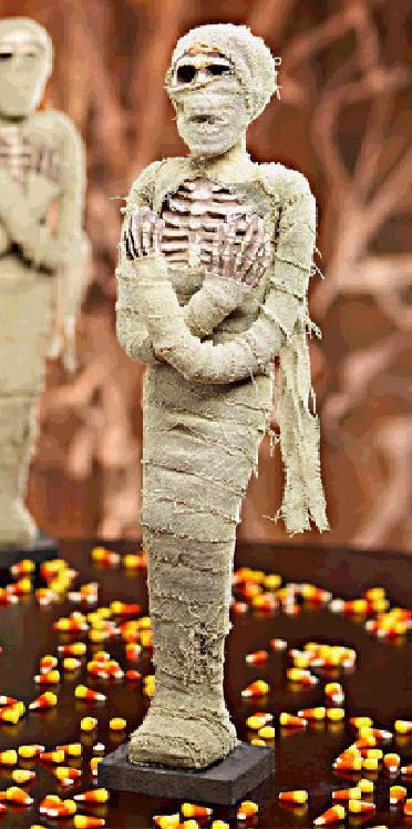 "So Realistic 21"" Tall Halloween SLEEPING Pose Mummy"