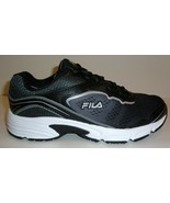 Fila Size 6 MEMORY RUNTRONIC SLIP RESISTANT Black Sneakers New Womens Shoes - $68.61