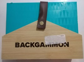 NEW Pressman Designer Classics Backgammon Board Game - $13.36