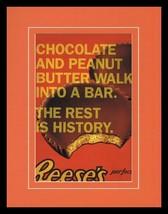 2008 Reese's Peanut Butter Cups 11x14 Framed ORIGINAL Vintage Advertisem... - $32.36