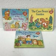 Vtg Little Care Bear Softcover Books Lot Of 3 - $11.87