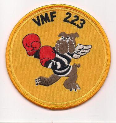 Primary image for USMC VMF-223 WWII Marine Attack Squadron 223 Patch