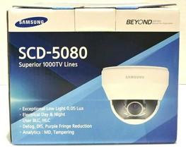 Samsung SCD-5080N 1280H Super High Resolution Dome Camera - $100.00