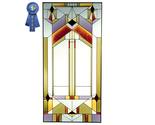 Stained glass deco tectural 22x42  n 019 thumb155 crop