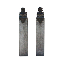 Chinese Pair Gray Black Color Stone Fengshui Pixiu Tall Slim Pole Statue... - $3,800.00