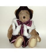 1/2 Price! Papel Giftware Victoria Plush Christmas Hinged Bear - $6.00