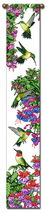 "40"" HUMMINGBIRDS Bird Bell Pull Tapestry Wall Hanging  - $21.00"
