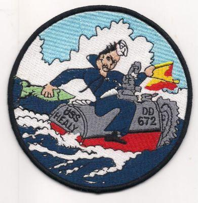 Primary image for US Navy DD-672 USS Healy Patch