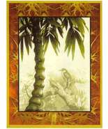 60x44 PALM TREE Tropical Jungle Tapestry Wall H... - $475.00