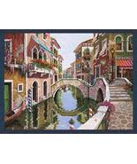 38x52 VENICE Italy Canal Waterway Tapestry Wall... - $295.00