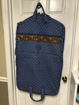 Vera Bradley French Blue RARE Garment Bag Travel Clothes Bag  - $22.10