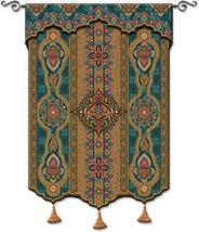 52x62 PREMA AZURE India Tassel Tapestry Wall Hanging - $259.95