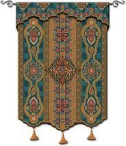 52x62 PREMA AZURE India Tassel Tapestry Wall Hanging - $259.95