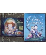 The Giant Golden Book of Elves and Fairies Jane Werner, Fairy Houses Tra... - $10.00
