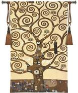 35x48 KLIMT TREE OF LIFE Fine Art Tapestry Wall Hanging - $189.95