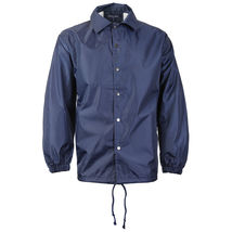 Renegade Men's Lightweight Water Resistant Button Up Windbreaker Coach Jacket image 4