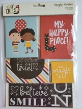 Say Cheese 4 SN@P Cards.  48 pieces.  Journaling Cards, Ephemera. CLEARANCE