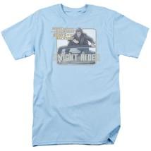 Knight Rider Retro 80's TV show David Hasselhoff & Kitt graphic t-shirt NBC667 image 1