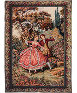 34x29 DANZA Romantic Fine Art Tapestry Wall Han... - $150.00