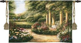 53x34 WESTBURY GARDENS Floral Tapestry Wall Hanging - $159.95
