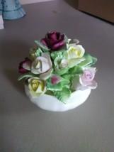 Coalport Fine China Bowl Bouquet of Flowers - $6.43