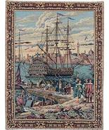 26x19 GALLEON Ship Boat Venice Italy Tapestry W... - $68.50