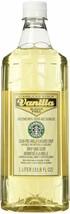 Fresh Starbucks Sugar-Free Vanilla Syrup (1-L.)  by Starbucks - $29.69