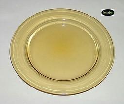 """Fostoria Priscilla Amber 8"""" Plate - $6.25"""