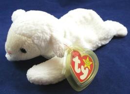 Ty Original Beanie Baby Fleece the Sheep Lamb Plush with Heart Tag, 1996 - $5.49