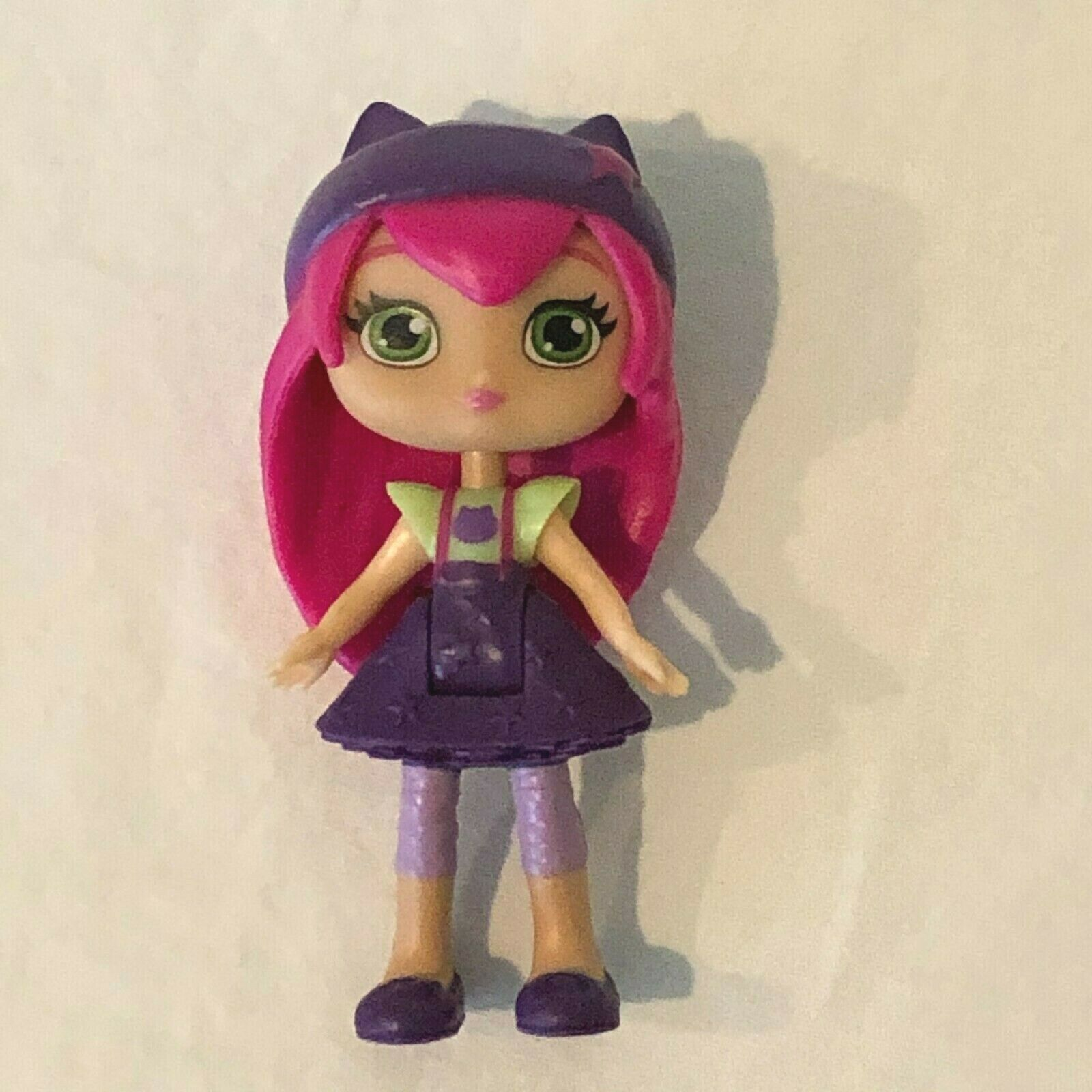 Primary image for Spin Master Little Charmers Hazel Doll Figure Pink Hair Purple Dress Bend Waist