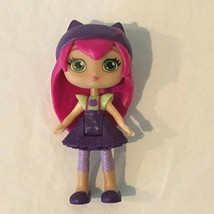 Spin Master Little Charmers Hazel Doll Figure Pink Hair Purple Dress Ben... - $4.99