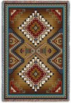 70x54 BRAZOS SOUTHWEST Design Tapestry Afghan Throw Blanket - $60.00