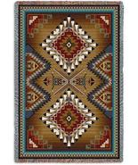 70x54 BRAZOS SOUTHWEST Design Tapestry Afghan Throw Blanket - $60.00