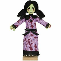 Amscan Mini Standing Possessed Girl Decoration   Multicolor   1pc - $6.67