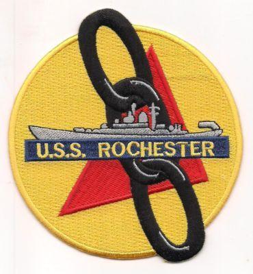 Primary image for US Navy CA-124 USS Rochester The Gray Ghost of the Korean War Patch