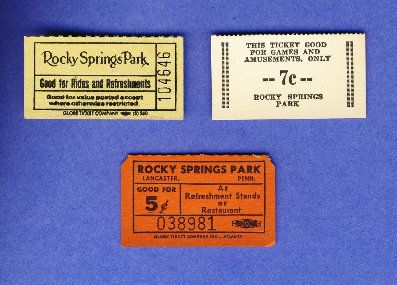 Rocky springs ticket lot